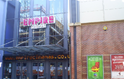 Sunderland Empire Cinema Times 64