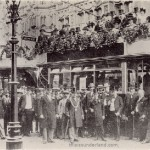 Opening of Sunderland electric tramway, 15th August 1900